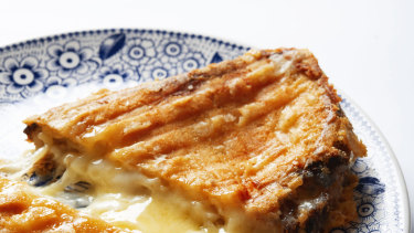 Toasties. The quick lock down working from home food.